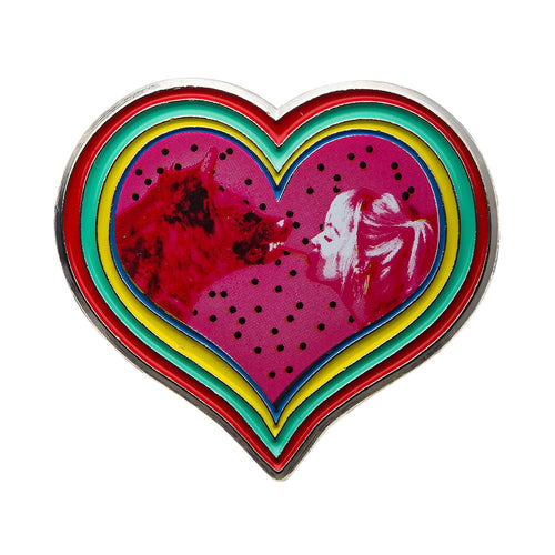 Birds of Prey Harley Quinn & Hyena Enamel Collector Pin