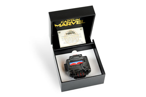 Marvel Captain Marvel Nick Fury's Pager Money Clip | Exclusive Marvel Wallet
