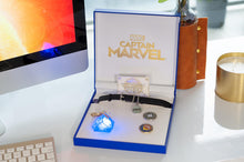 Load image into Gallery viewer, Marvel's Captain Marvel Exclusive Goose Collar Choker | Includes Bonus Tesseract
