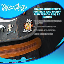 Load image into Gallery viewer, Enamel Collector's Pin| Rick and Morty Bird Person Pin| 1.5 Inches