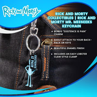Rick and Morty Collectibles | Rick and Morty Mr. Meeseeks Keychain