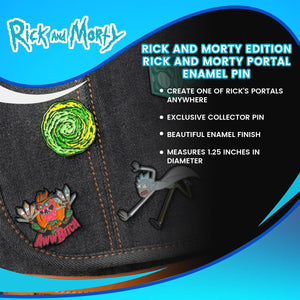 Rick and Morty Edition | Rick and Morty Portal Enamel Pin