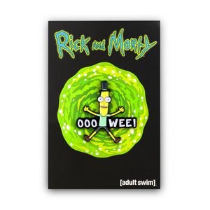 Rick and Morty Collector's Enamel Pin, Mr. Poopybutthole