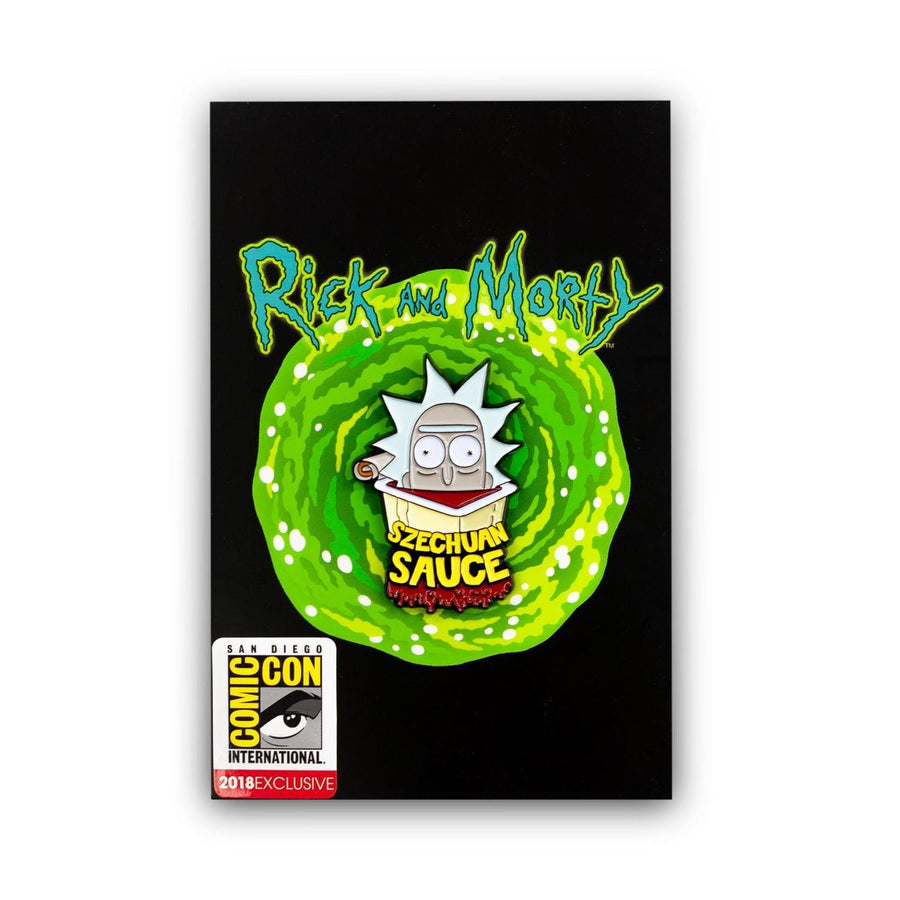 Rick and Morty Szechuan Sauce Enamel Collector Pin, SDCC Exclusive