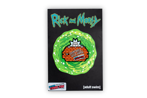 Rick and Morty Graffiti Rick Exclusive 2 Inch Enamel Collector Pin