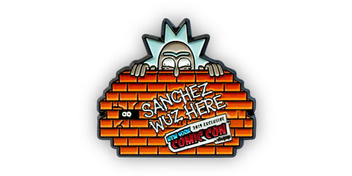 Rick and Morty Graffiti Rick Pin | Official Rick & Morty Exclusive Collector Pin