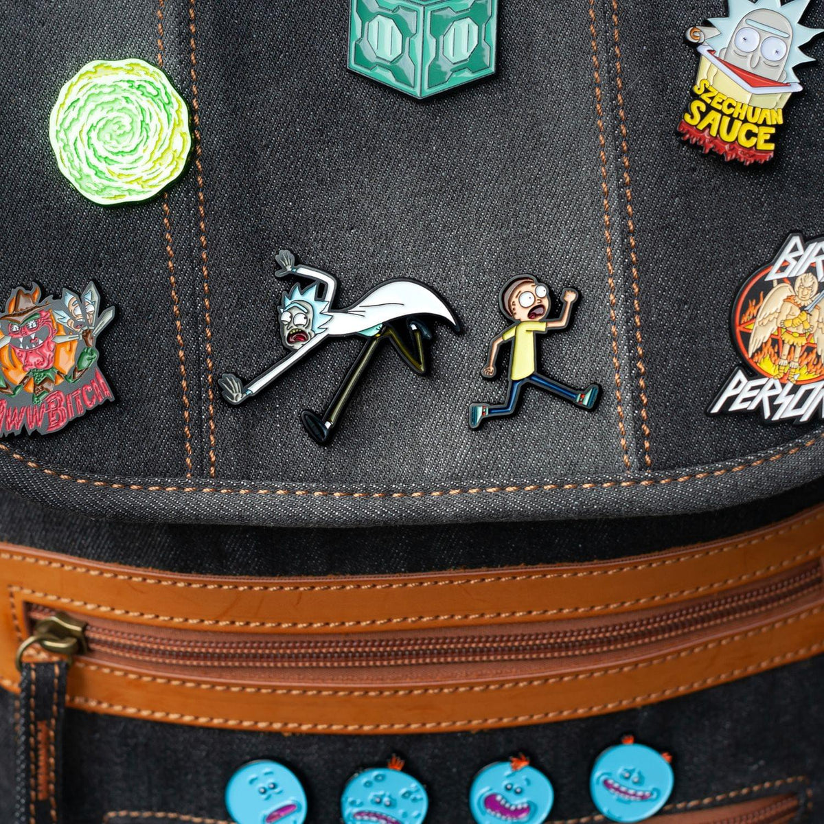 Rick and Morty Collectibles| Rick Morty Enamel Collector Pin Set