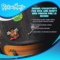 Exclusive Pin Collectible | Rick and Morty Scary Terry Enamel Pin| NYCC 17