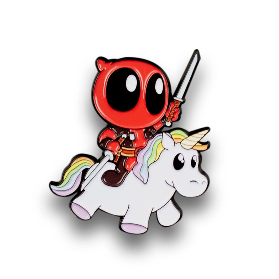 Marvel Deadpool Unicorn Enamel Collector Pin, SDCC Exclusive