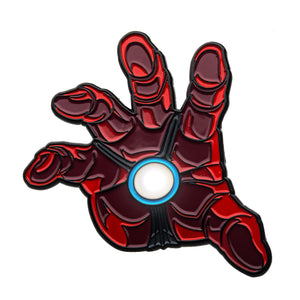 Marvel Iron Man Repulsor Hand Light Up Enamel Pin