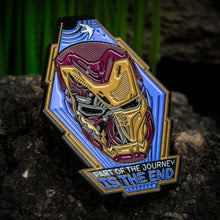 Load image into Gallery viewer, Marvel Iron Man End Journey Light Up Enamel Pin