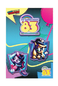 My Little Pony Exclusive Rockie Davies Enamel Collector Pin 3-Pack