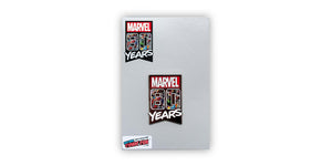 Marvel Official 80 Years Exclusive Enamel Collectible Pin | Measures 2 Inches