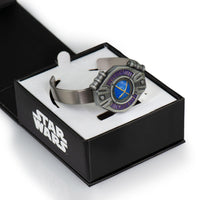Princess Leia and Rey Beacon Tracker Bolo Bracelet | Licensed Star Wars Merch