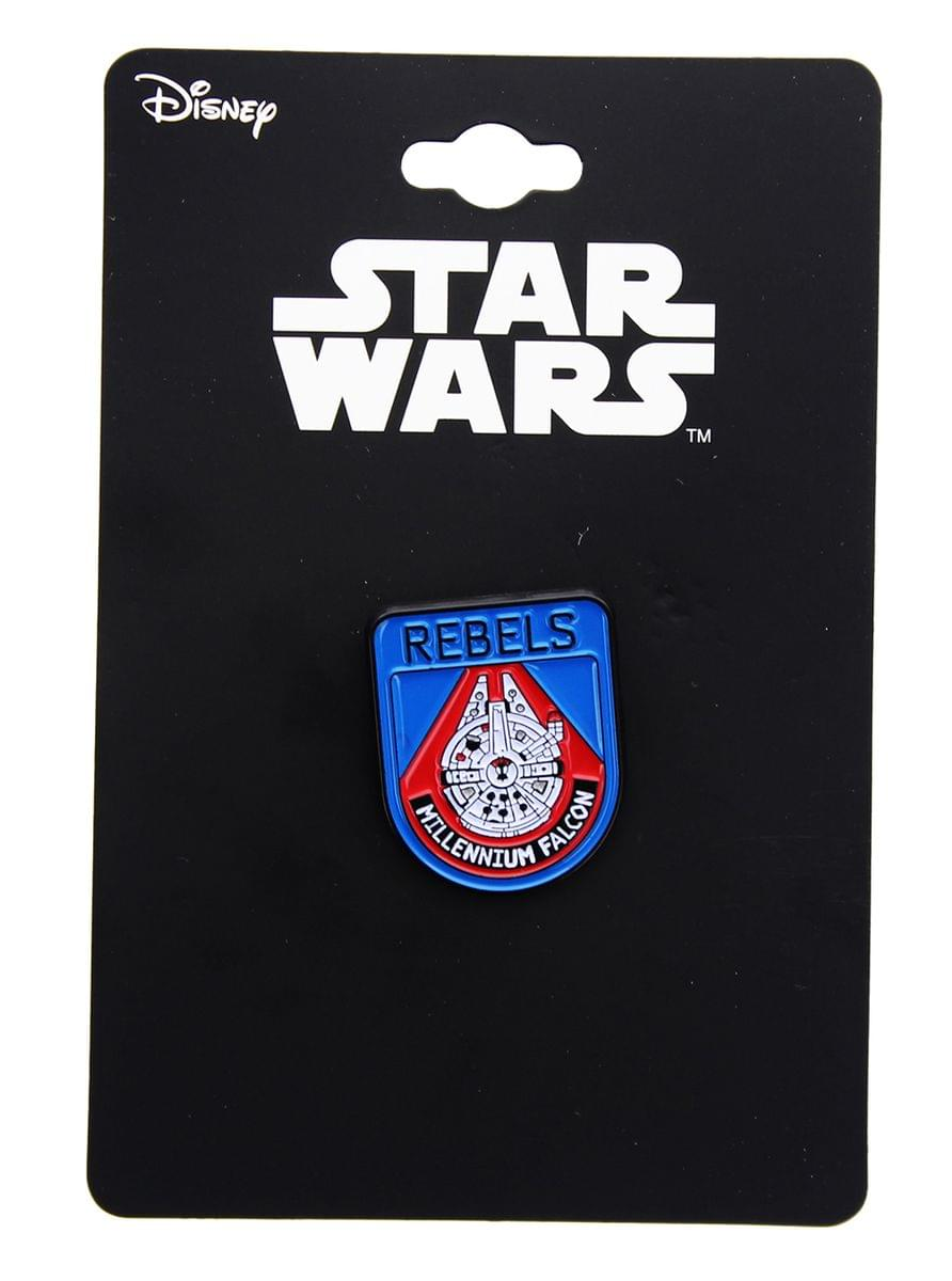 "Star Wars: The Last Jedi Millennium Falcon ""Rebels"" Enamel Collector Pin"