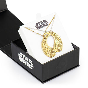 Star Wars: The Last Jedi Rose & Paige Gold & Silver Bond Necklaces | Set Of 2
