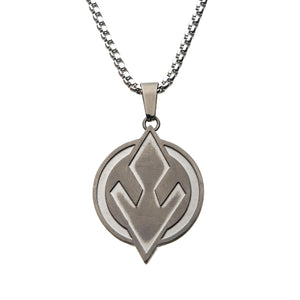 Star Wars Sith Symbol Stainless Steel Pendant Necklace