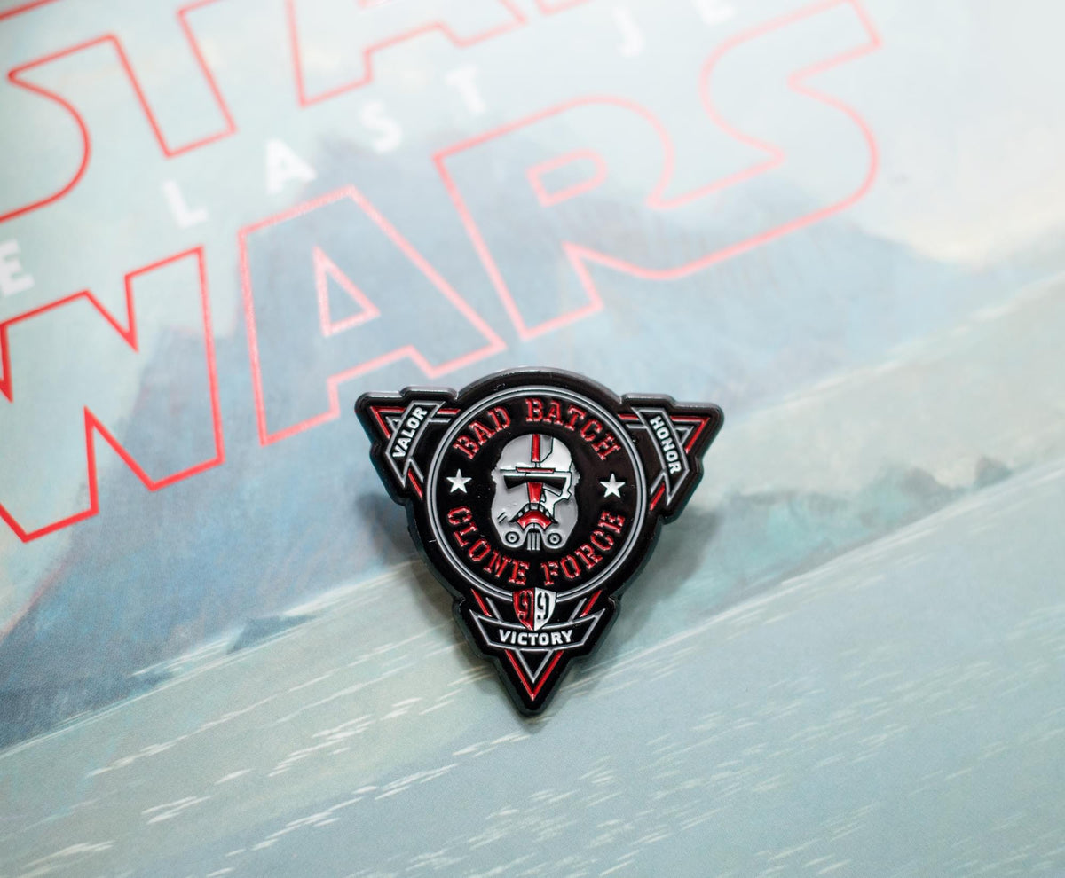 Star Wars: The Bad Batch Clone Force Enamel Pin | 1.5 x 1 Inch | Toynk Exclusive