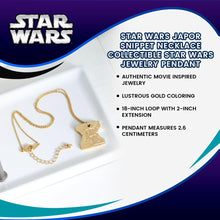 Load image into Gallery viewer, Star Wars Japor Snippet Necklace | Collectible Star Wars Jewelry Pendant