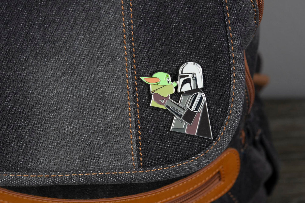 Star Wars The Mandalorian and The Child Collectible Enamel Pin | Toynk Exclusive