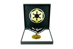 Star Wars: The Mandalorian Empire Imperial Crest Medal | Star Wars Necklace
