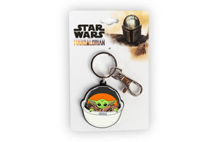 The Mandalorian The Child Keychain Pendant | Baby Yoda In Carriage