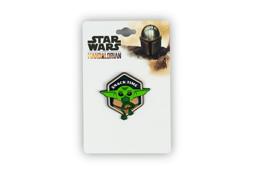 Star Wars Mandalorian The Child Snack Time Enamel Collector Pin