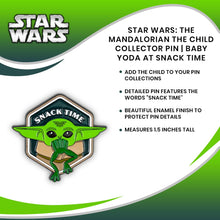 Load image into Gallery viewer, Star Wars: The Mandalorian The Child Collector Pin | Baby Yoda At Snack Time