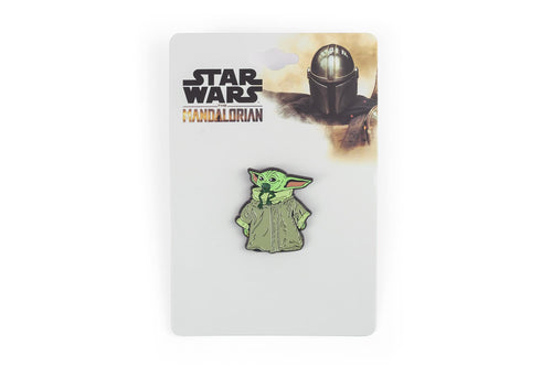 Star Wars The Mandalorian The Child Eating Frog Enamel Collector Pin