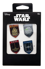 Load image into Gallery viewer, Star Wars Spaceships Enamel Pins | Set of 4