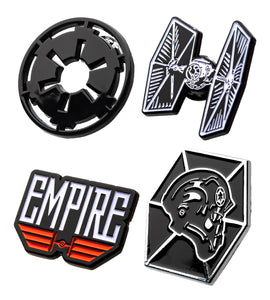 Star Wars Imperial Forces Enamel Pins | Set of 4
