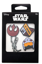 Load image into Gallery viewer, Star Wars Rebel Alliance Enamel Pins | Set of 4