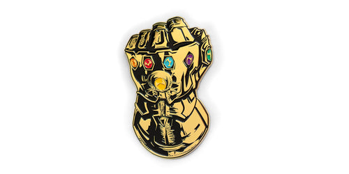 Marvel Avengers: Endgame Infinity Gauntlet Pin | Huge Oversize Pin | 6 Inches