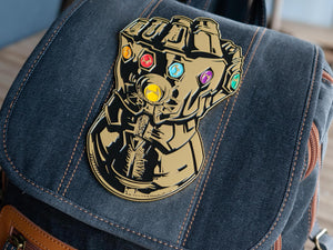 Marvel Infinity Gauntlet 6 Inch Enamel Magnetic Collector Pin