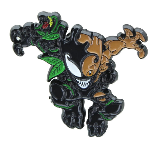 Marvel Spider-Man Maximum Venom Enamel Pin | Venom Groot