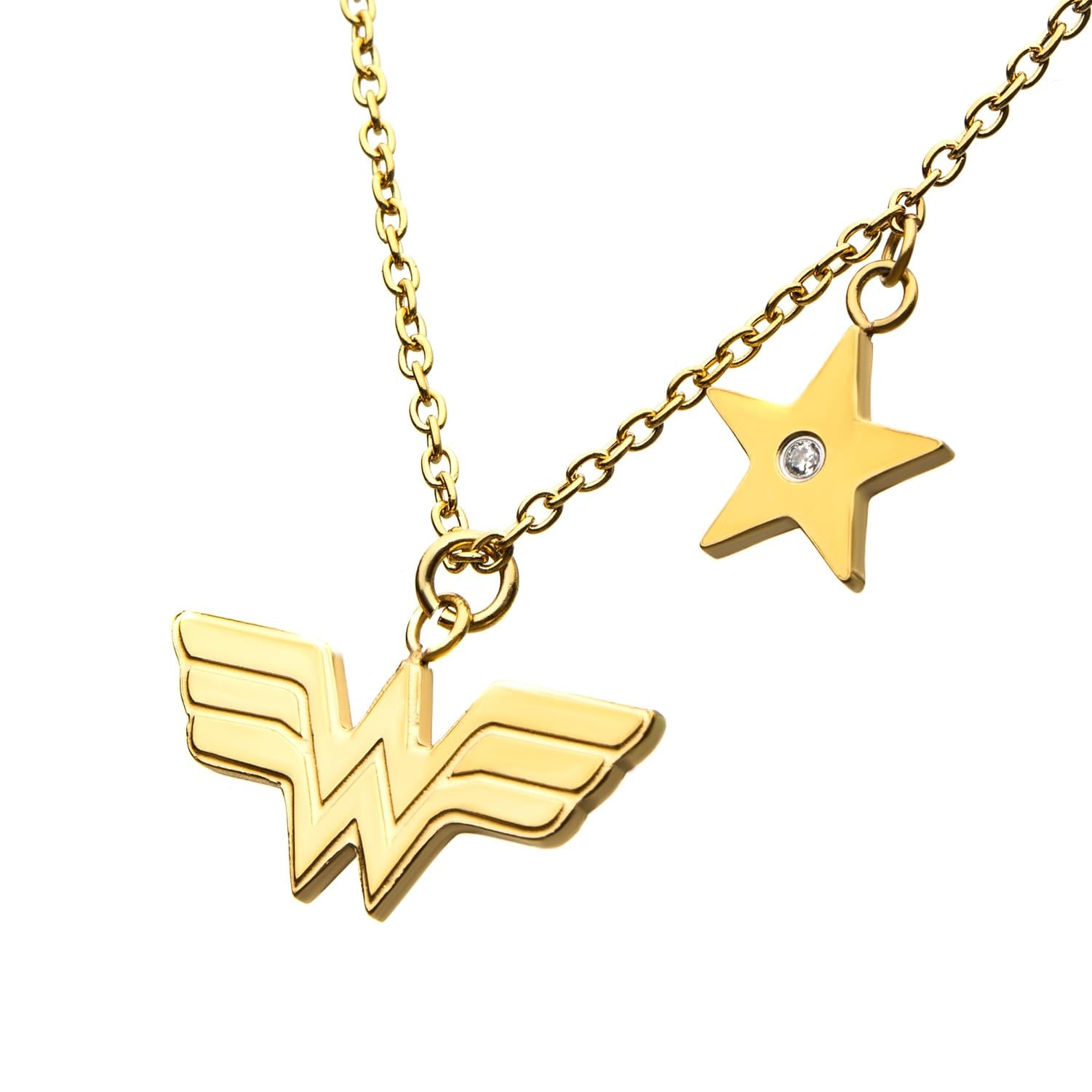 DC Comics Wonder Woman Stainless Steel Necklace