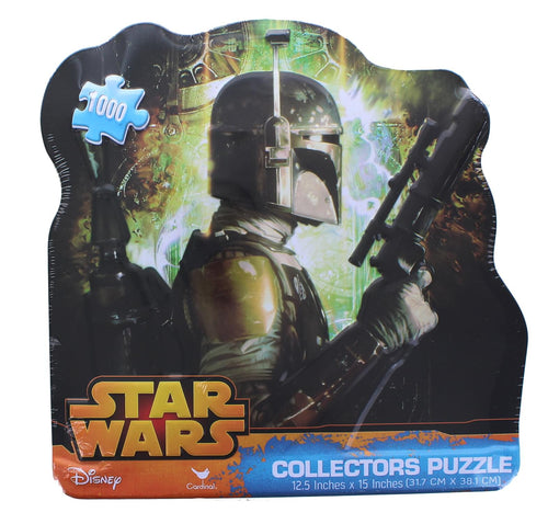 Star Wars 1000 Piece Collectors Tin Jigsaw Puzzle | Boba Fett