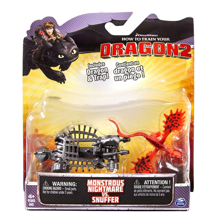 How To Train Your Dragon 2 Figure Battle Pack: Monstrous Nightmare vs Snuffer
