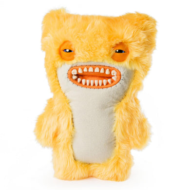 Fuggler 12 Inch Funny Ugly Monster Plush | Yellow Awkward Bear