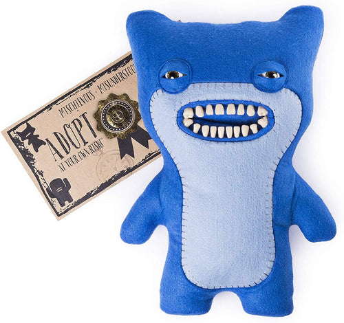 Fuggler 12 Inch Funny Ugly Monster Plush | Blue Awkward Bear