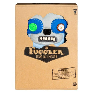 Fuggler 12 Inch Funny Ugly Monster Plush | Periwinkle Blue Sickening Sloth