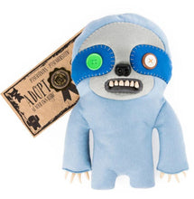 Load image into Gallery viewer, Fuggler 12 Inch Funny Ugly Monster Plush | Periwinkle Blue Sickening Sloth