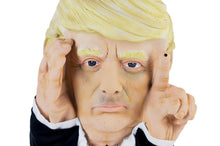Load image into Gallery viewer, Scary Peeper Tapping President Donald Trump Halloween Decoration | 16.5 Inches