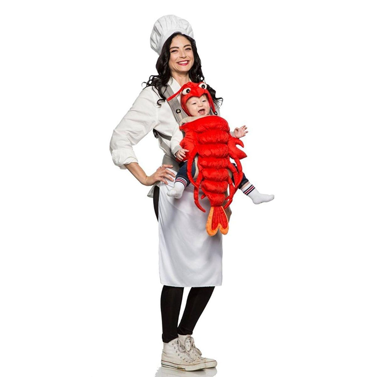 Master Chef and Maine Lobster Mommy & Me Costume