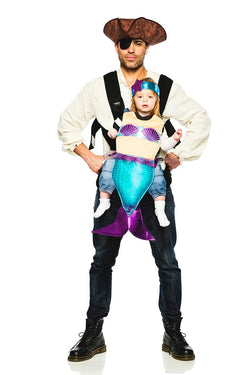 Pirate & Mermaid Baby Carrier Costume