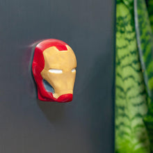 Load image into Gallery viewer, Iron Man Refrigerator Magnet | 3D Superhero Collectible Magnet | 2 Inches Tall