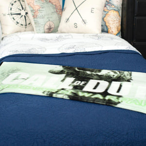 Call of Duty Lightweight Fleece Throw Blanket | 45 x 60 Inches