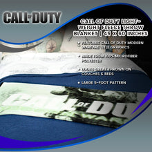 Load image into Gallery viewer, Call of Duty Lightweight Fleece Throw Blanket | 45 x 60 Inches