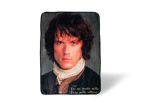 Outlander Lightweight Fleece Throw Blanket | 45 x 60 Inches