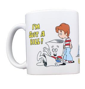 School House Rocks I'm Just A Bill Ceramic Coffee Mug